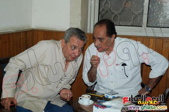نرمين الفقي وكل فنانين مصر والعرب في عزاء ولدة نرمين الفقي ghlasa1383173993799.jpg