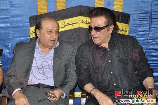 نرمين الفقي وكل فنانين مصر والعرب في عزاء ولدة نرمين الفقي ghlasa1383174699665.jpg