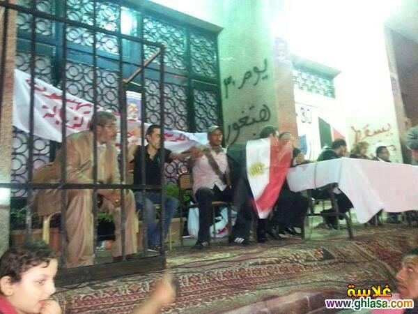 صور محمد مرسى فى السجن اول مرة 4 نوفمبر 2018 ، صور محاكمة محمد مرسي فى المحكمة 2018 ghlasa1383253512761.jpg