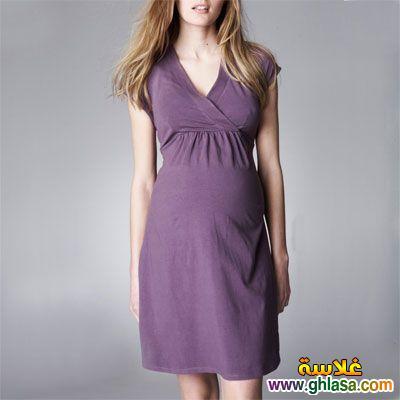 للحوامل ملابس شيك لعام 2019 ghlasa1383694340614.jpg