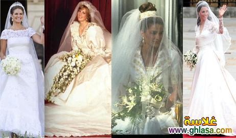 صور فساتين فرح بيضاء للاميرات فساتين زفاف الاميرات ghlasa1383793818031.jpg