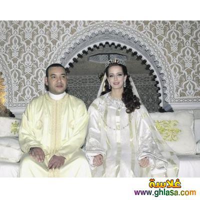 صور فساتين فرح بيضاء للاميرات فساتين زفاف الاميرات ghlasa1383793818052.jpg
