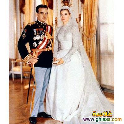 صور فساتين فرح بيضاء للاميرات فساتين زفاف الاميرات ghlasa1383793818116.jpg