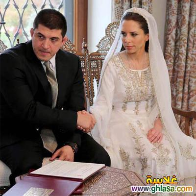 صور فساتين فرح بيضاء للاميرات فساتين زفاف الاميرات ghlasa1383793965113.jpg