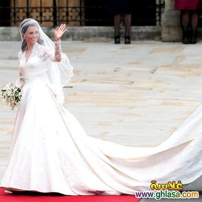صور فساتين فرح بيضاء للاميرات فساتين زفاف الاميرات ghlasa138379396512.jpg