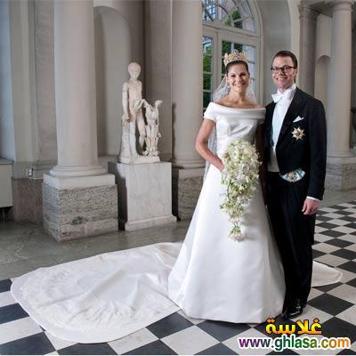 صور فساتين فرح بيضاء للاميرات فساتين زفاف الاميرات ghlasa1383793965134.jpg