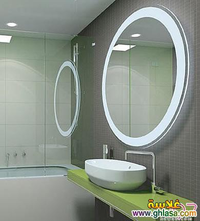 صور اجمل مرايات حمام لعام 2019 مرايات حمام جديده 2019 ghlasa1384121658354.jpg