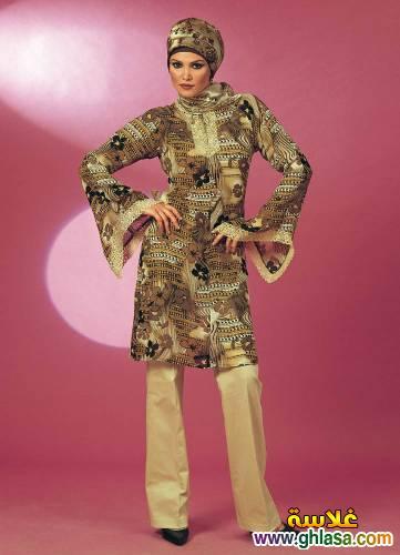 صور تونيكات شتوي  للمحجبات احدث موديلات لعام 2019 ملابس محجبات شيك ازياء محجبات انيقه لعام 2019 ghlasa1384133564981.jpg