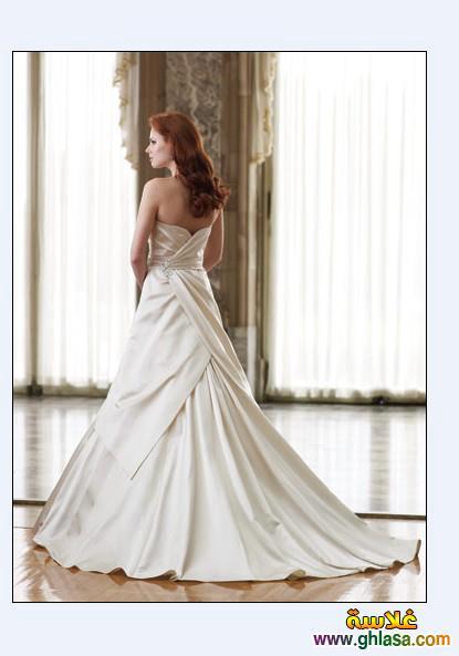 صور فستان زفاف ابيض 2018 ، أجمل صور فساتين زفاف 2018 ghlasa1386300212065.jpg
