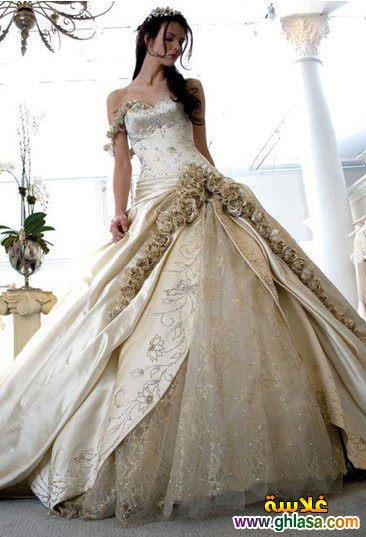 صور فستان زفاف ابيض 2018 ، أجمل صور فساتين زفاف 2018 ghlasa13863002122.jpg