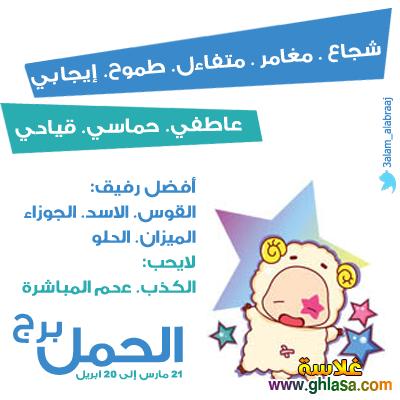 توقعات برج الحمل لشهر يناير 2019 ، ماغى فرح _ محمد فرعون _ ليلى عبد اللطيف 2019 ghlasa1386380268731.png