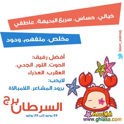 توقعات الابراج  برج السرطان لشهر يناير  ، ماغى فرح _ محمد فرعون _ ليلى عبد اللطيف  ghlasa1386382455131.png