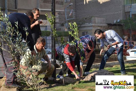 صور شباب من المنصوره يزرعه شجر لتجميل المنصوره ghlasa1386491745425.jpg