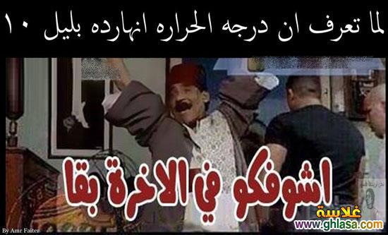 نكت مصرية على فصل الشتاء  ، نكت المصريين على درجة الحرارة فى مصر  ghlasa1386857902994.jpg