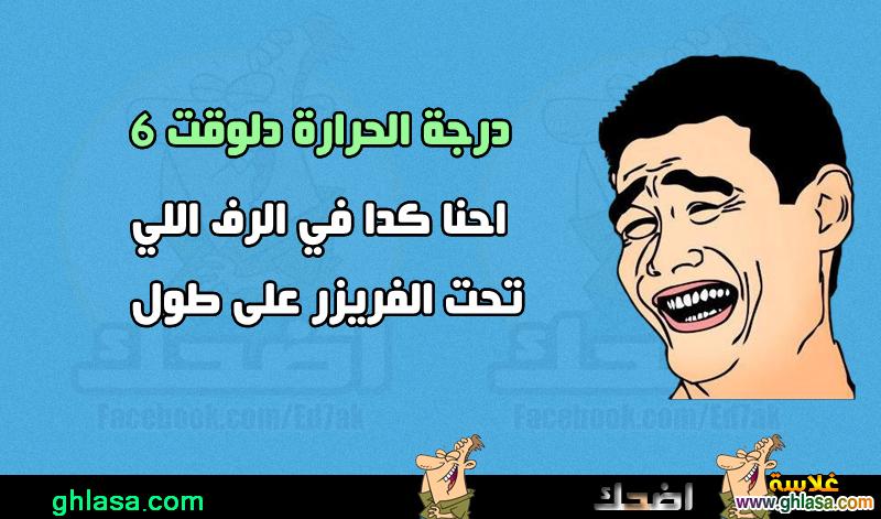 نكت مصرية على فصل الشتاء  ، نكت المصريين على درجة الحرارة فى مصر  ghlasa1386857903428.png