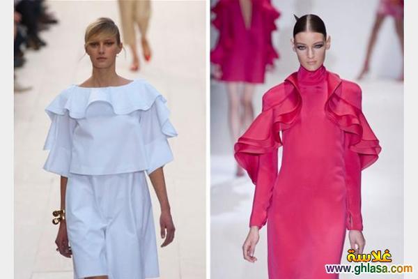 احدث ملابس شتوي متنوعه للبنات للعام الجديد 2019 ghlasa1386940507598.jpg