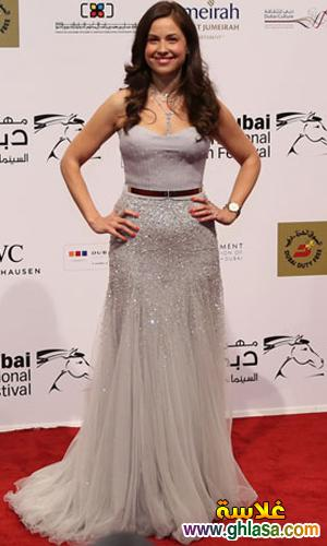 صور فساتين فنانات معرجان دبي  احدث فساتين سهره  بمهرجان دبي ghlasa1386944035822.jpg