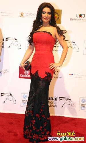 صور فساتين فنانات معرجان دبي  احدث فساتين سهره  بمهرجان دبي ghlasa1386944035895.jpg