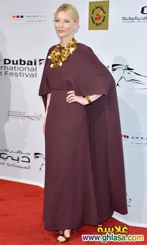 صور فساتين فنانات معرجان دبي  احدث فساتين سهره  بمهرجان دبي ghlasa1386944035948.jpg