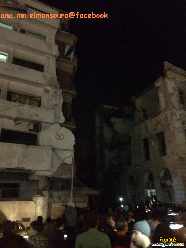 بالصور انفجار مديرية امن الدقهلية ، وانفجار ابراج بجوار المديرية المنصورة ghlasa1387840323851.jpg