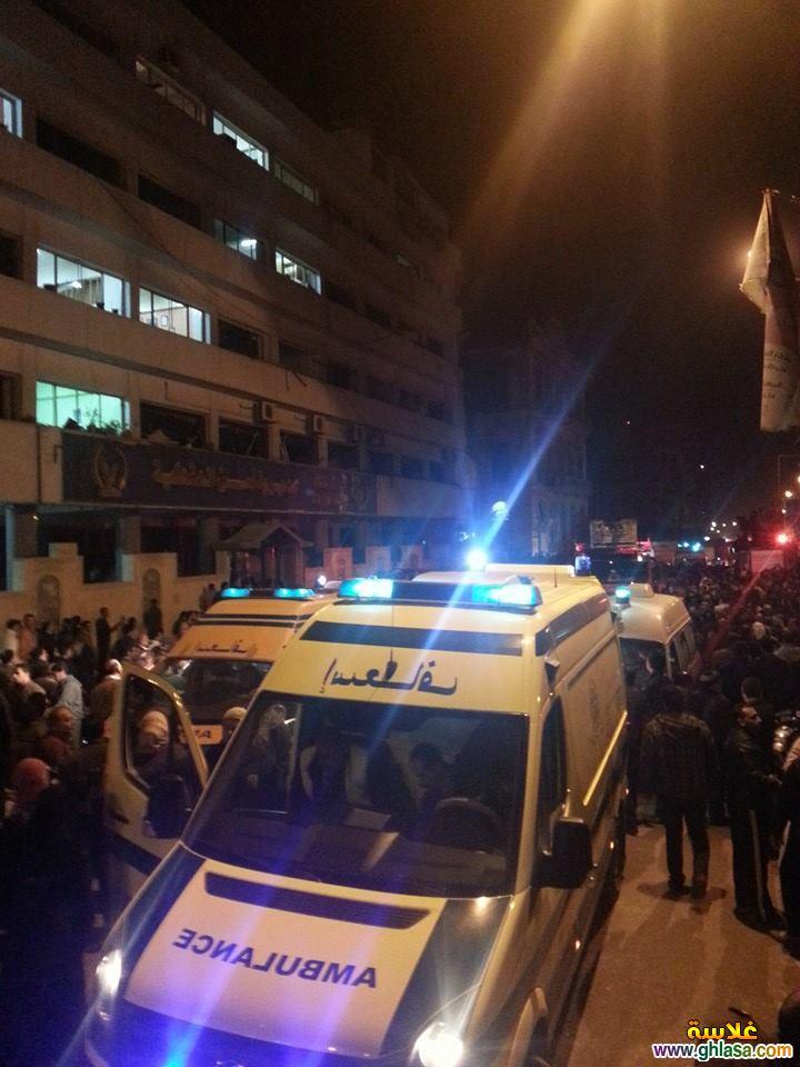 صور تفاصيل انفجار مديرية الامن فى المنصورة اليوم24-12-2019 ghlasa1387844396712.jpg