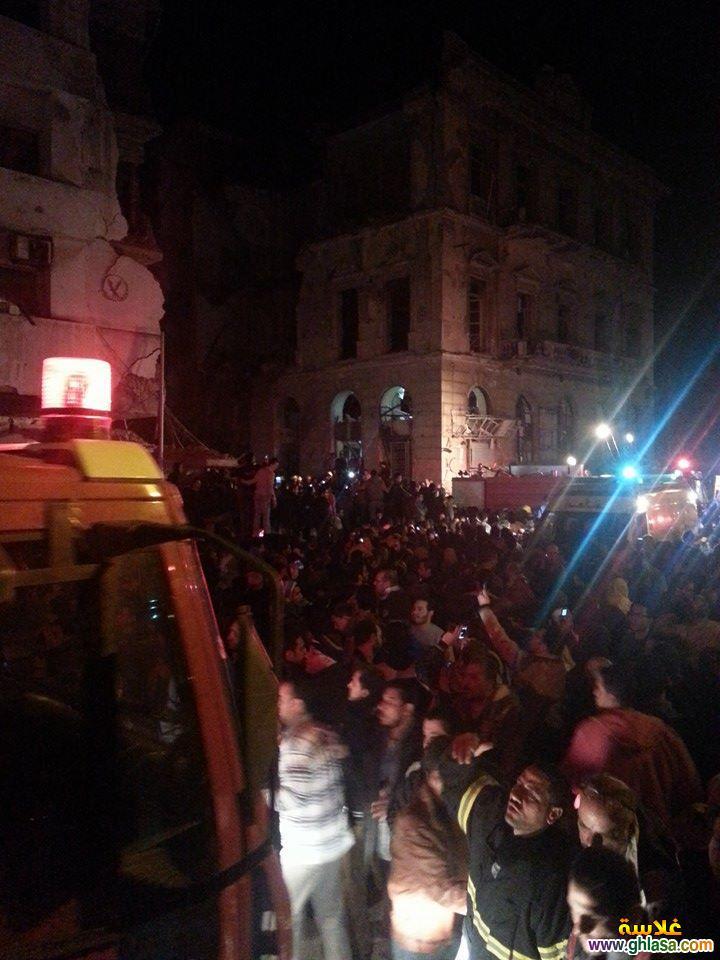صور تفاصيل انفجار مديرية الامن فى المنصورة اليوم24-12-2019 ghlasa138784439696.jpg