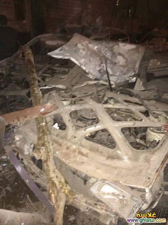 صور تفاصيل انفجار مديرية الامن فى المنصورة اليوم24-12-2019 ghlasa1387844397038.jpg