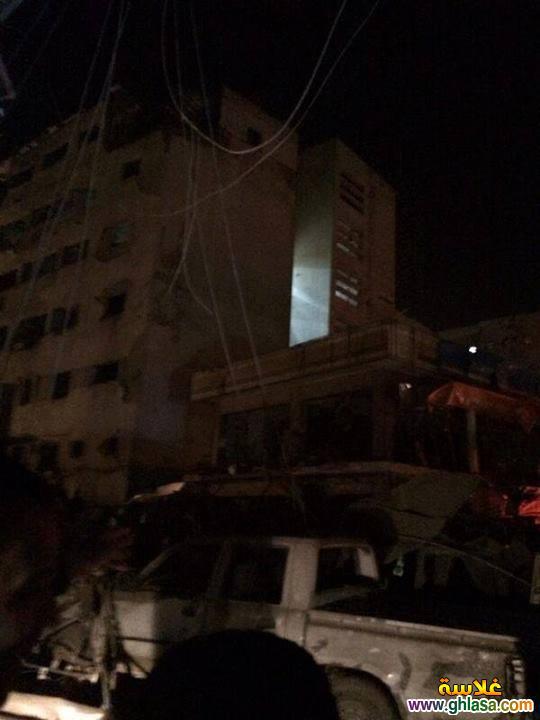 صور تفاصيل انفجار مديرية الامن فى المنصورة اليوم24-12-2019 ghlasa1387844397079.jpg