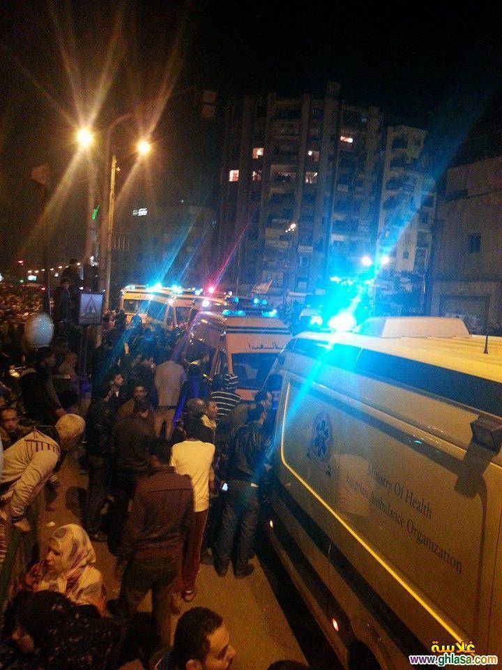 صور تفاصيل انفجار مديرية الامن فى المنصورة اليوم24-12-2019 ghlasa1387844397110.jpg
