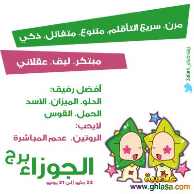 توقعات برج الجوزاء نيفين ابو شالة  ، توقعات الابراج برج الجوزاء  ghlasa1388494641891.png